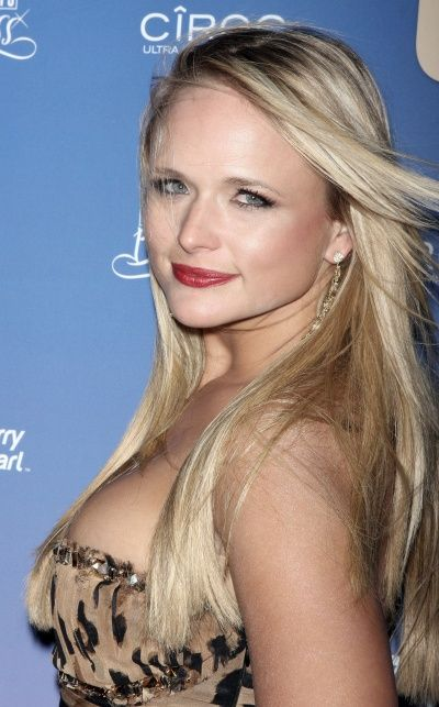 i like Miranda lambert's hair like this than her other styles but I love her other styles