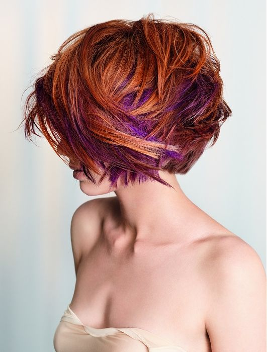 so coolPurple Hair, Colors Combos, Hairstyles, Hair Colors, Red Hair, Shorts Hair, Hair Cut, Hair Style, Wigs