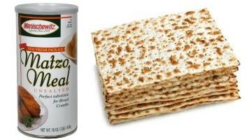 MATZO MEAL Around the Jewish holiday of Passover, supermarkets start to fill their shelves with matzo and matzo meal alongside piles of egg-shaped Easter chocolates. While all foods eaten during passover are supposed to be kosher-for-passover, the most famous passover food is matzo (or matzah). Matzo is an unleavened cracker-like bread that is traditionally eaten at Passover. It is made with flour and water, and it is the flour-containing product that is deemed to be Kosher for passover.