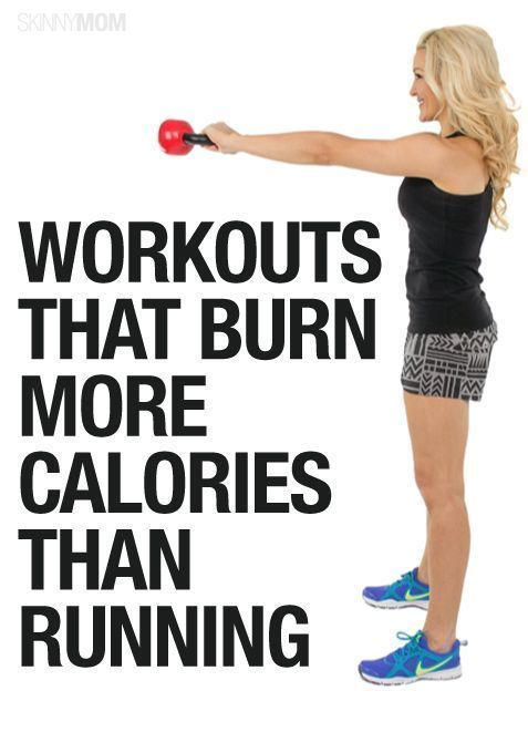 These workouts burn more calories than running!