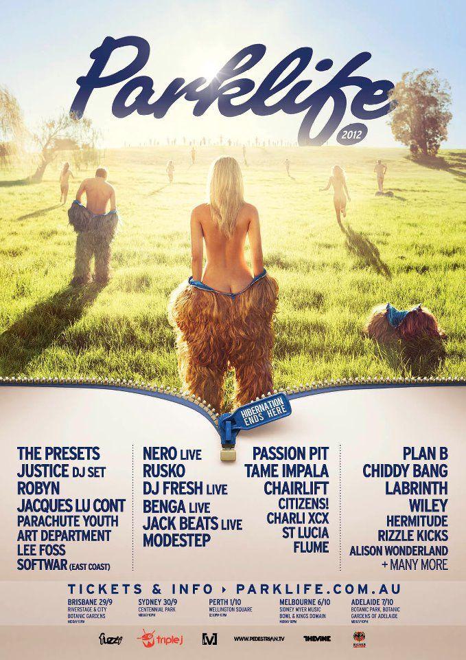 australian music festival posters - Google Search