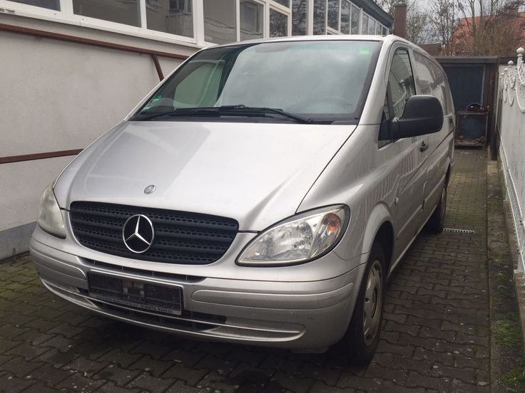 Mercedes-benz vito 115 cdi  Kastenwagen Unfall