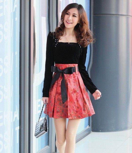 korean dress | korean dress style 2012 Korean Dresses Trends 2012 2013
