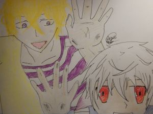 Yogi and Nai! by Angela R. Watts XD I drew another pic of Nai before this one but it was blah.