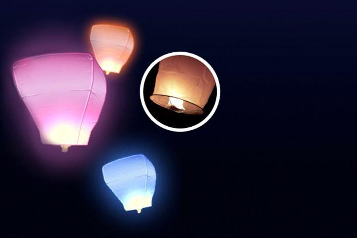 10 Eco-Friendly Sky Lanterns