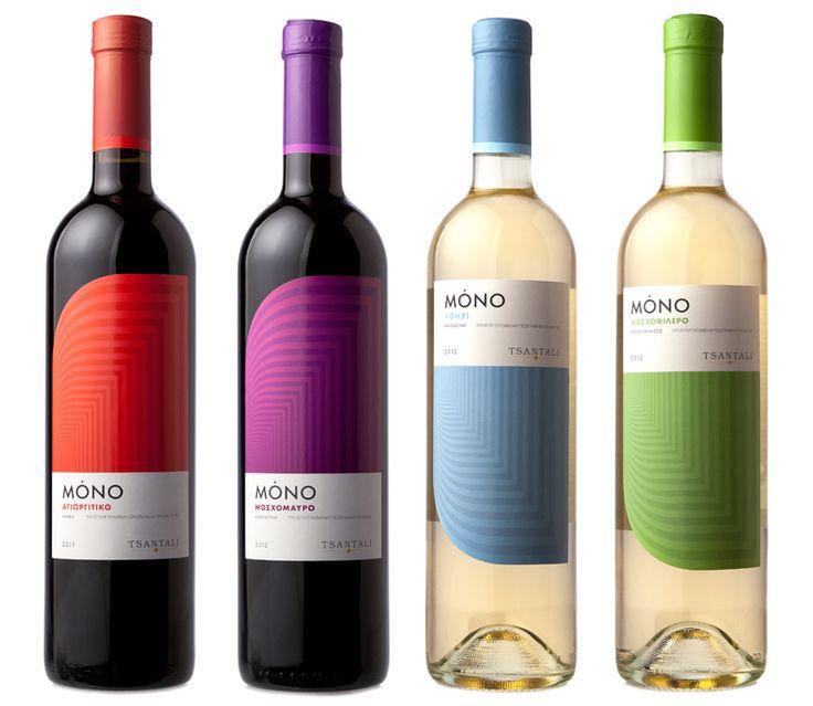 Mono, Tsantalis, wine labels Tsantali S.A.