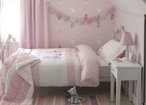 Laura Ashley Girls Wallpaper For Bedroom - Home Design