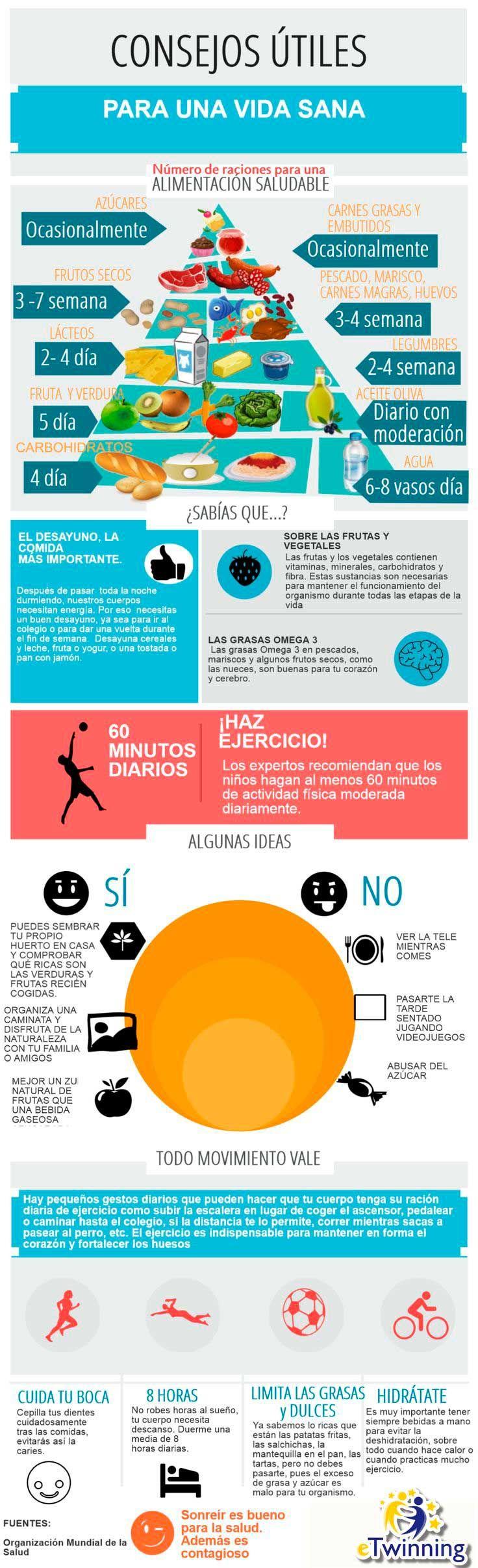19 infografías que te ayudarán a comer más sano y vivir mejor | Upsocl