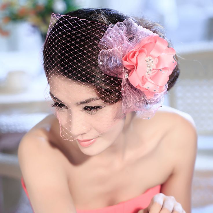 Бесплатная доставка новых свадебное платье невесты свадебные украшения для волос с аксессуарами горный хрусталь сетки воды цветок лотоса головы - Taobao