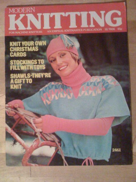 Knitting Uk Magazine : The best images about modern machine knitting magazine