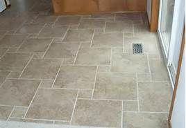 Hopscotch Pattern: Ceramic Tile Floor Designs