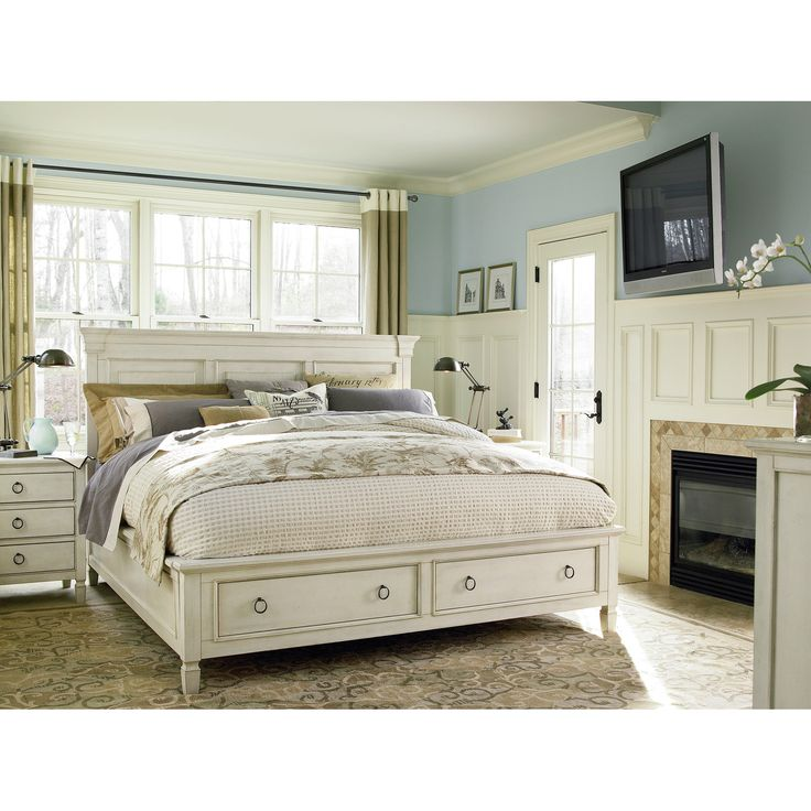 Universal Furniture Summer Hill Storage Panel Bedroom Collection