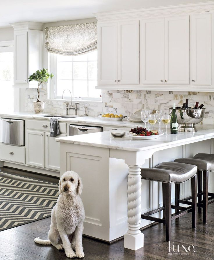 Kitchen Layouts With Peninsula: Sarah Richardson, House Of Turquoise And Countertop