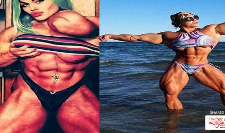 Female Hulk Who Started Bodybuilding Because She Was Too Skinny Shares Pictures...
