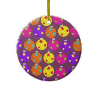 Christmas Bauble Wallpaper Ornaments