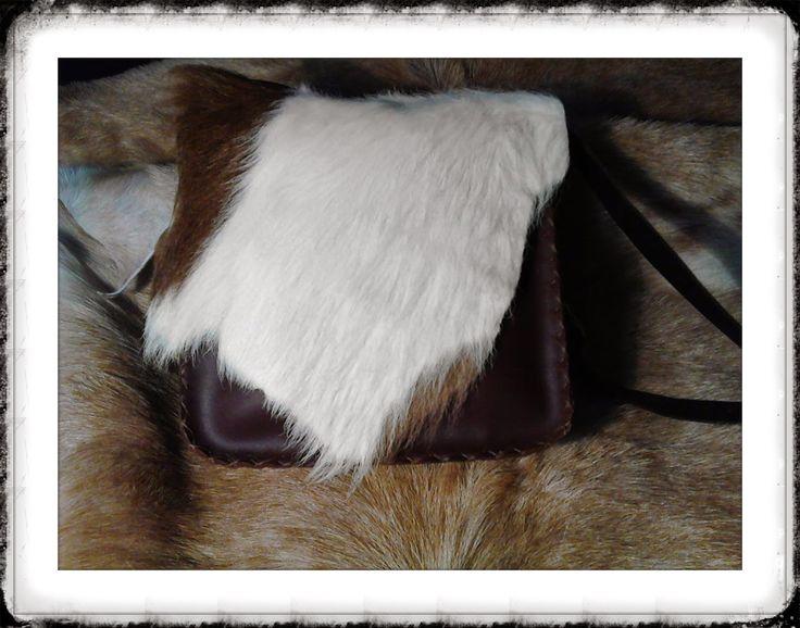 Bolso de piel de vaca 40 € + gastos de envío http://cueroripkay.blogspot.com.es