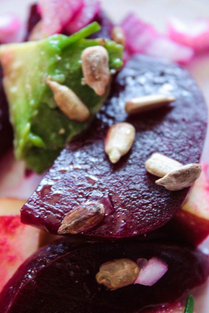 Die besten 25+ Rote beete salat Ideen auf Pinterest Rote bete - küche mit schräge