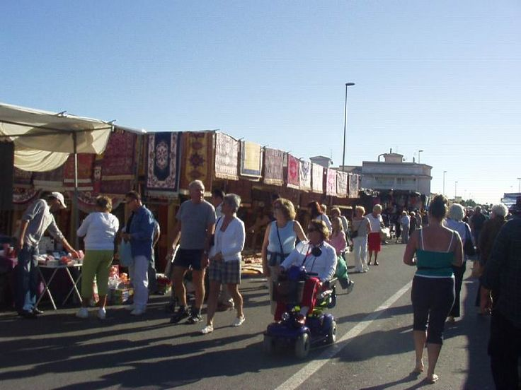 Costa Blanca - Torrevieja - Playa Flamenca Market every Saturday morning throughout the year. It is enormous so make sure you take your money with you!