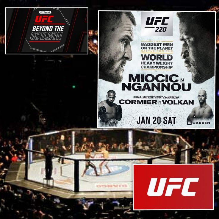 Watch Live UFC 220: Fight Night on BT Sport tidd.ly/d8f45729