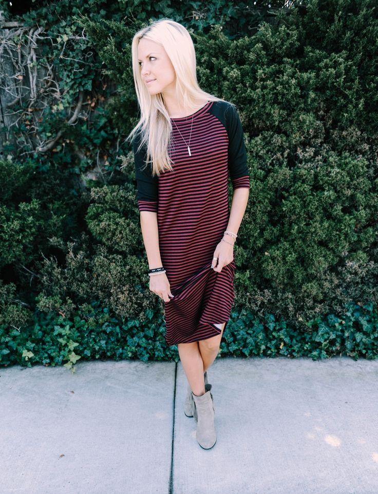 ALMOST GONE!!! Oh the baseball dress! A new Fall favorite.