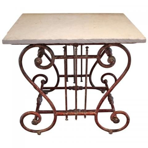 19th Century French Butcher Table / Pastry Table. Available At Maison U0026 Co.  Www