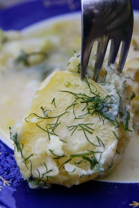 Eten maken: Dille-aardappelen