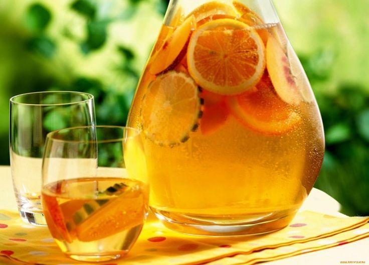 Компот из апельсинов и лимонов / Простые рецепты