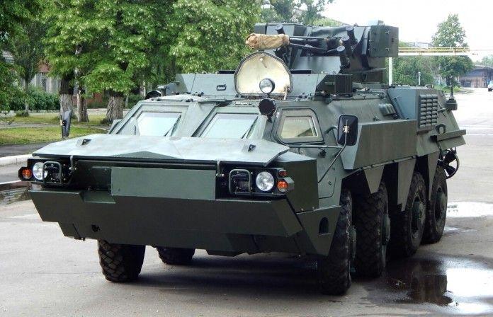 BTR-4M pesanan Marinir TNI Angkatan Laut. (angkasa.co.id)