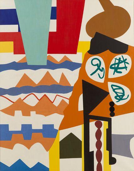Shirley Jaffe, Geometric Artist of Joyful Forms, Dies at 93 - The New York Times