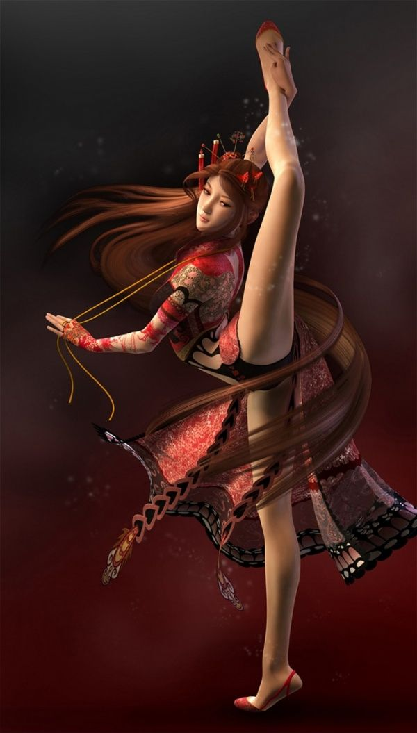 Title: The Butterfly Dancer This beautiful dancer ...