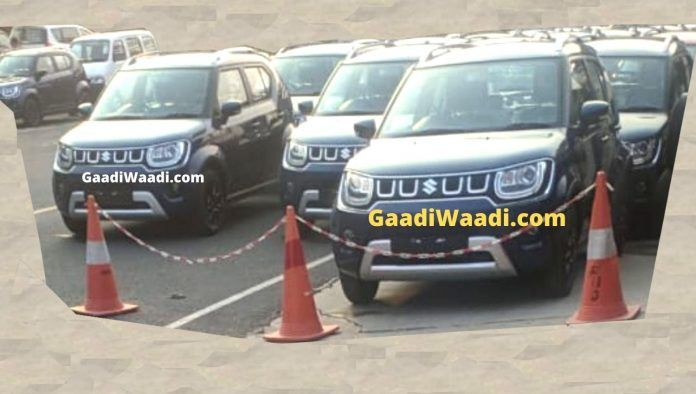 2020 Maruti Ignis Facelift Spied Ahead Of Imminent Launch