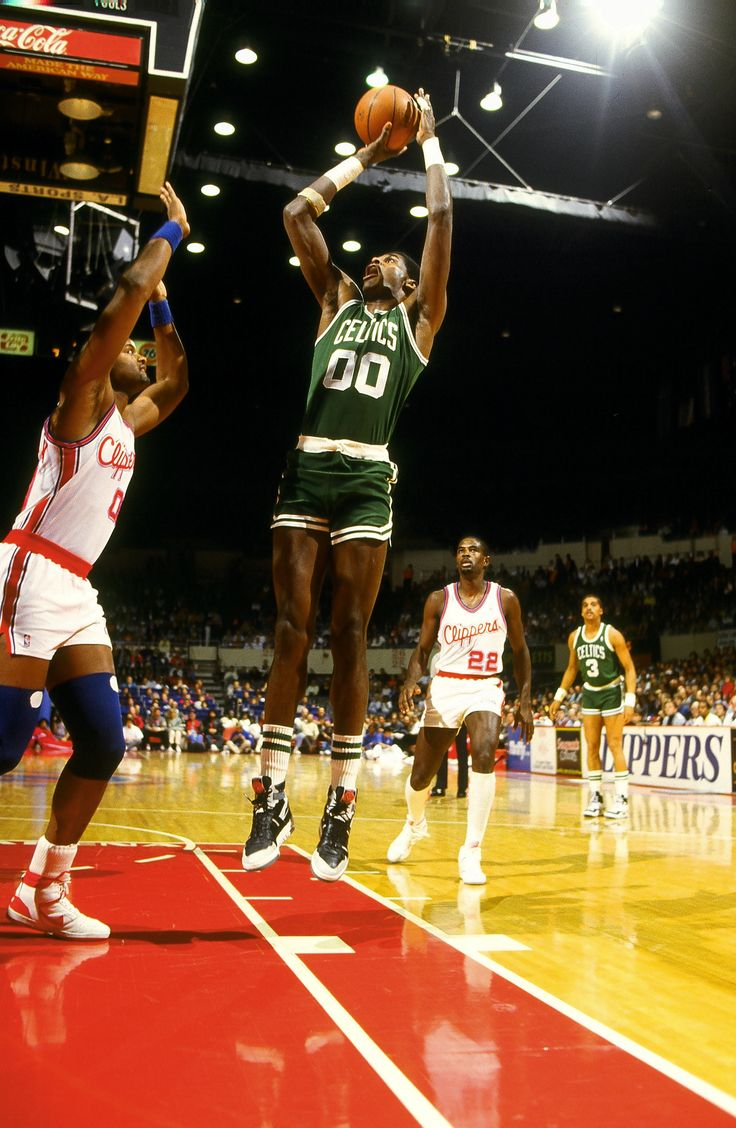 Robert Parish from the Golden Age of Basketball, the NBA in the Decade of the EIghties by Steven A. Roseboro