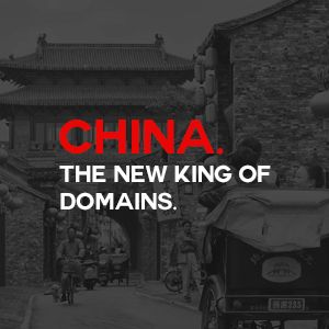 China. The New King of Domains.