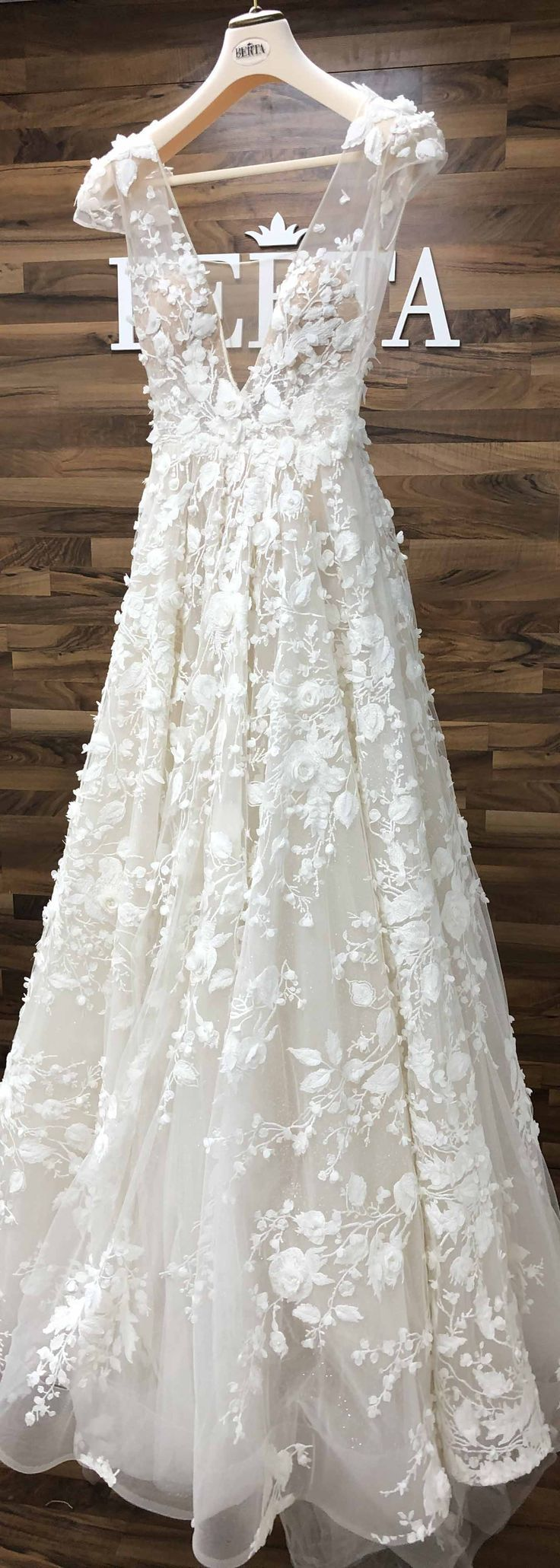 Stunning BERTA Style 19-112 from the ATHENS collection