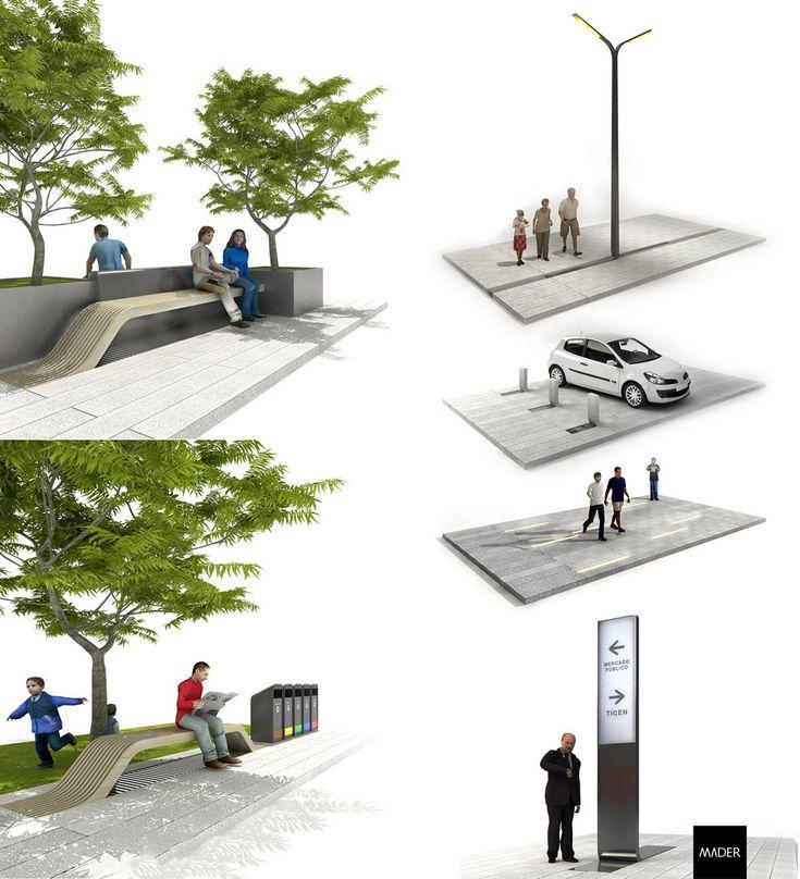 17 mejores ideas sobre equipamentos urbanos en pinterest for Mobiliario 8 80