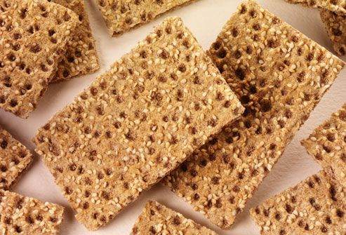 ❥ Fat fighting foods~ Crispbreads~   Whole-grain rye crackers, sometimes called crispbreads, offer a low-fat, fiber-packed alternative to traditional crackers. Research suggests people who replace refined grains with whole grains tend to have less belly fat. Whole grains also provide a richer assortment of plant nutrients. This doesn't just apply to crackers. You can get the same benefits by switching to whole-grain breads, cereals, and pastas.