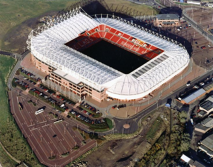 Sunderland Association Football Club - Stadium of Light - Monkwearmouth, Sunderland - England