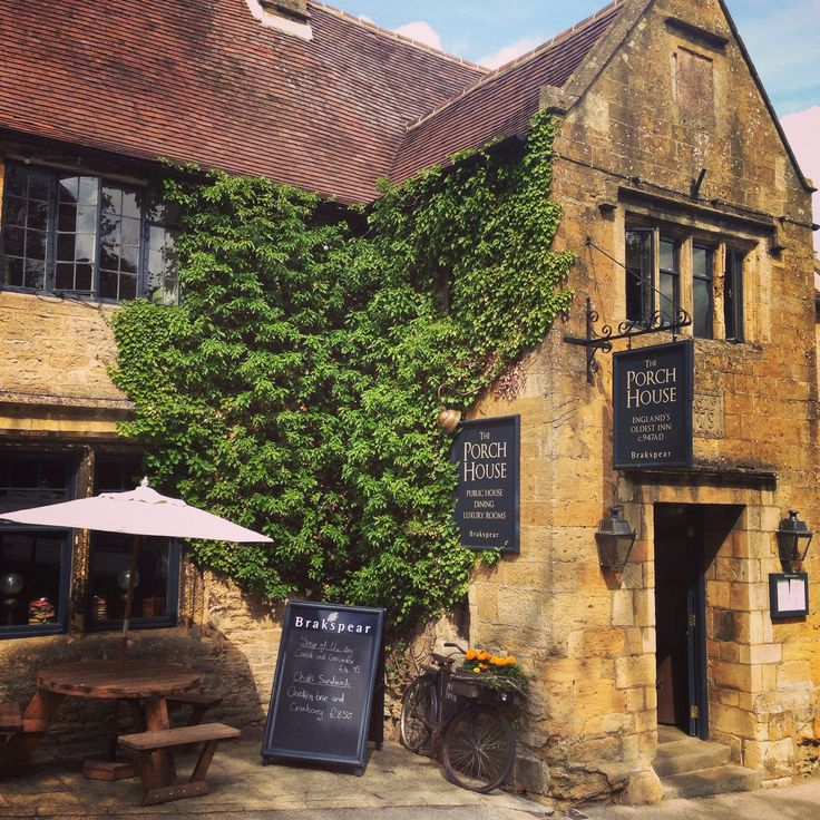 Oldest pub in England, Stow on the Wold