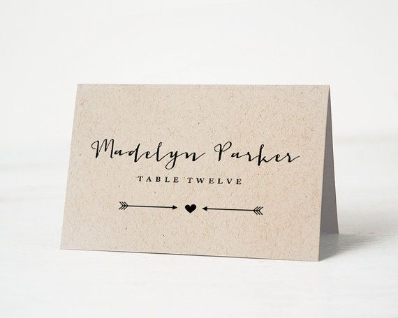 best 25 print your own wedding place cards ideas on pinterest diy table cards fun wedding. Black Bedroom Furniture Sets. Home Design Ideas