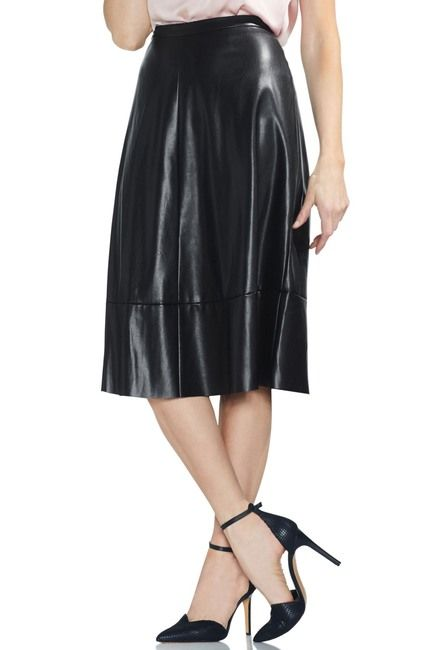 76f0b91c5 Vince Camuto | Faux Leather Skirt in 2019 | Winter 2019 Wish List ...