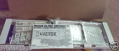 Industrial and Service Vehicles 182184: Tamiya # 56516 Rc Maersk 40 Container - For 1 14 Semi Trailer New In Box -> BUY IT NOW ONLY: $184.9 on eBay!