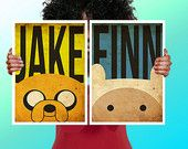 Adventure Time Jake The Dog Face Cushion / by ThisShopReallyRocks