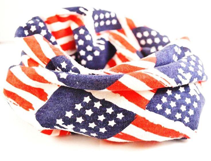 Sjaal baby jongen Amerikaanse vlag
