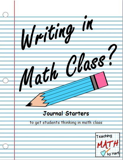 Love this post all about math journaling. So great for really digging into a problem and for assessment too! And there is a freebie too!