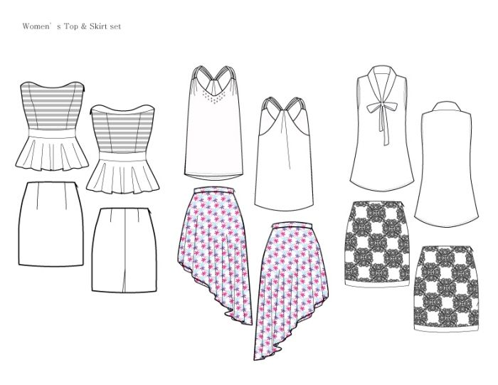 17 Best ideas about Clothing Sketches on Pinterest   Fashion ...
