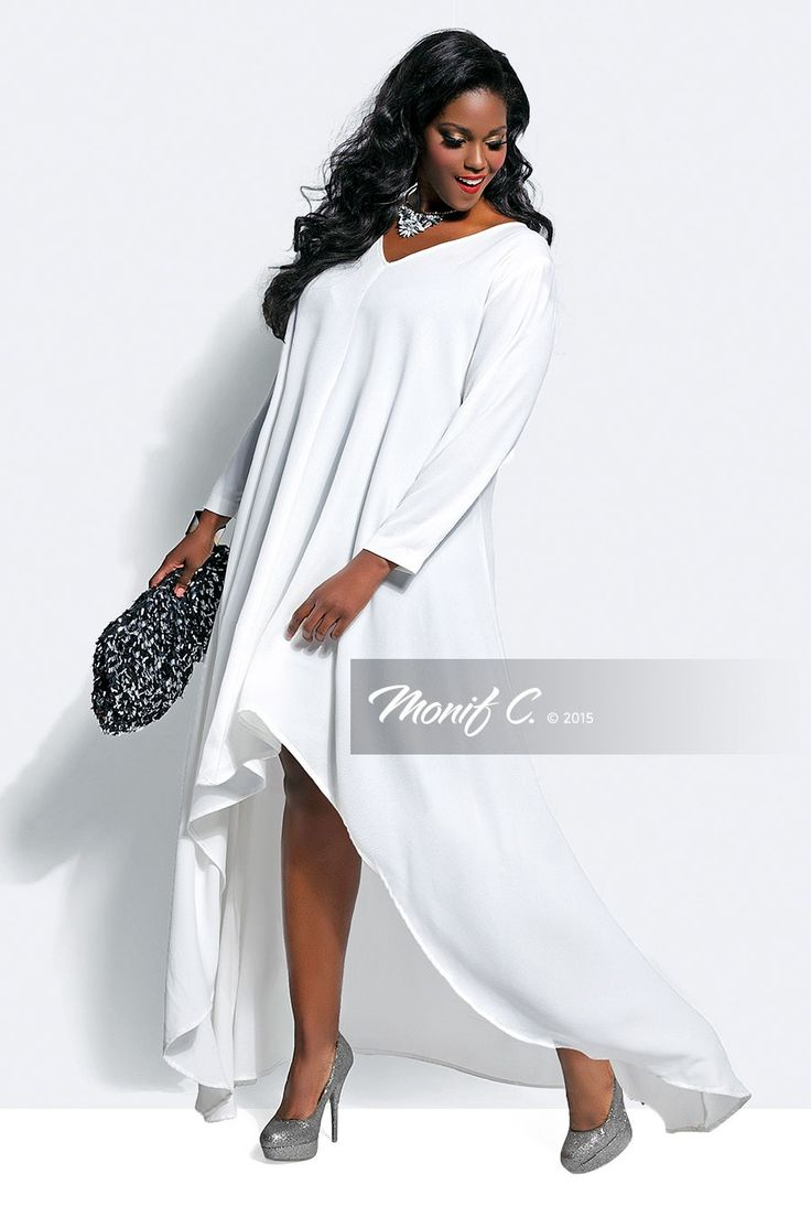 Plus Size White Party Dresses | Huston Fislar Photography