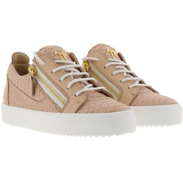 Giuseppe Zanotti May London Sneakers ($455) ❤ liked on Polyvore featuring shoes, sneakers, rosa antico, giuseppe zanotti sneakers, giuseppe zanotti, giuseppe zanotti trainers and giuseppe zanotti shoes