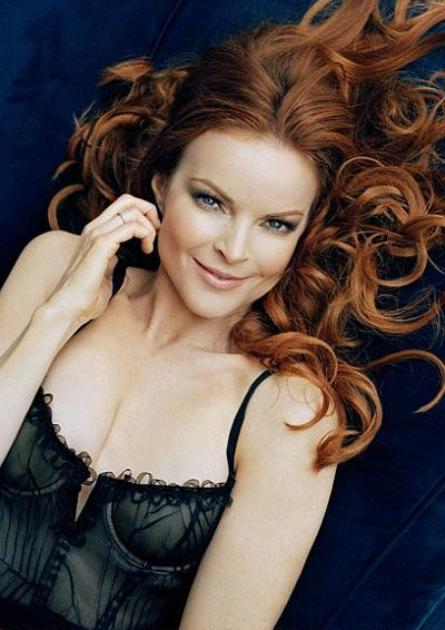 Marcia Cross For Redheads Stars Women Marcia
