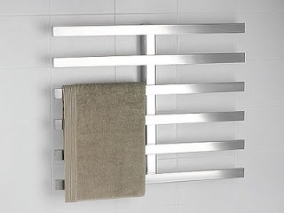 Ever since I went to Iceland, I'm sold on the idea of a good towel warmer!