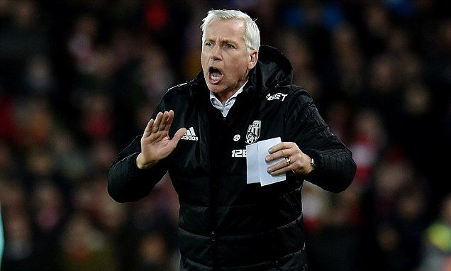 Alan Pardew's job could be at risk